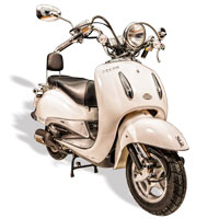 remplace le scooter SCOOTER 50 ECCHO CHOUPETTE WHITE SERIES