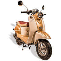 remplace le scooter SCOOTER 50 ECCHO RETRO 50 GOLD II