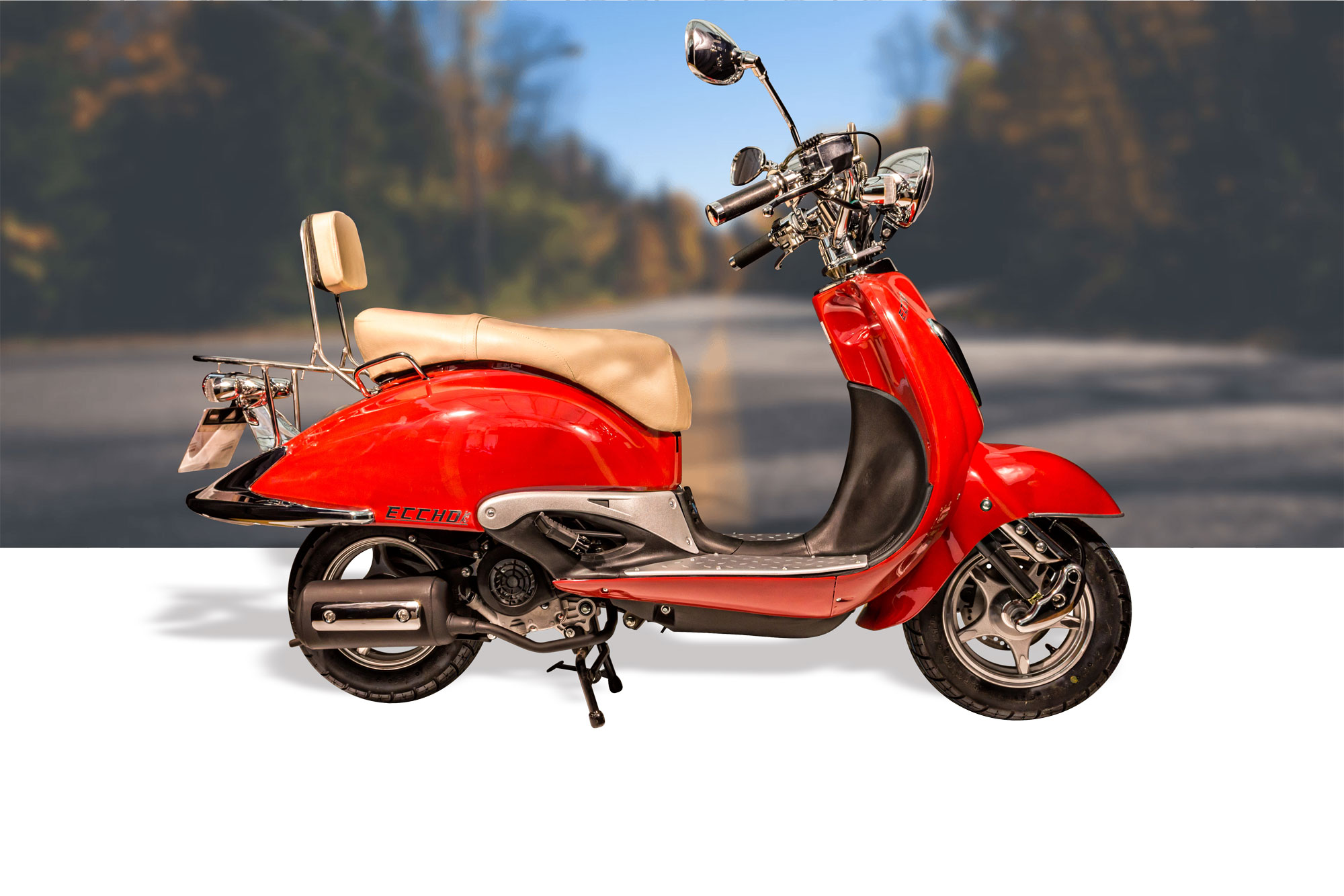 scooter ry50qt 8 red scooters eccho cholet acheter un. Black Bedroom Furniture Sets. Home Design Ideas