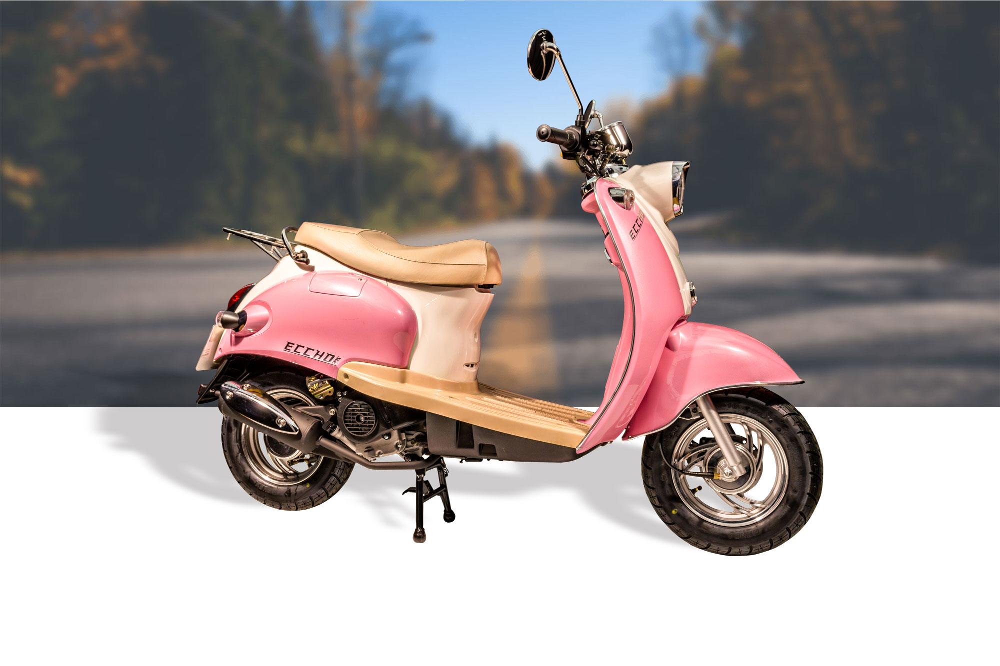 scooter ty50qt k pink scooters eccho cholet acheter un. Black Bedroom Furniture Sets. Home Design Ideas